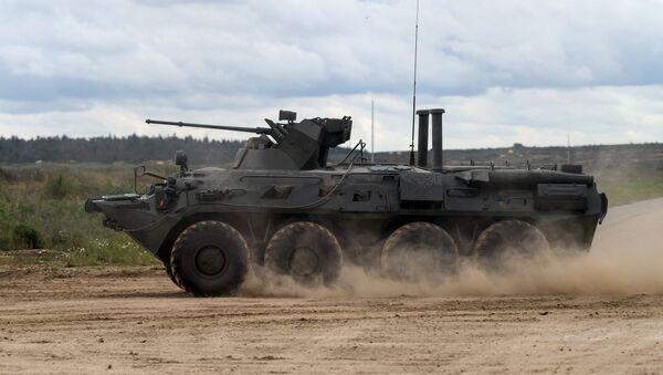 Transporte blindado BTR-82A - Sputnik Mundo