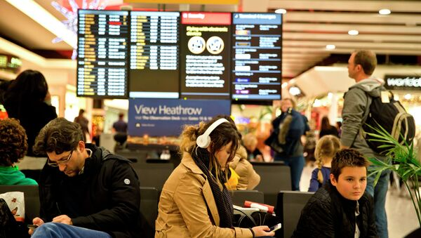 Aeropuerto británico Heathrow - Sputnik Mundo