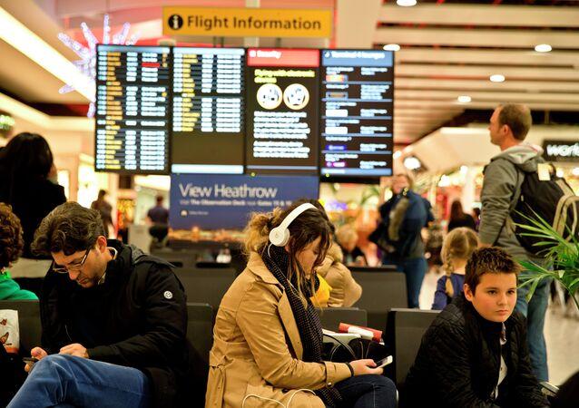 Aeropuerto británico Heathrow