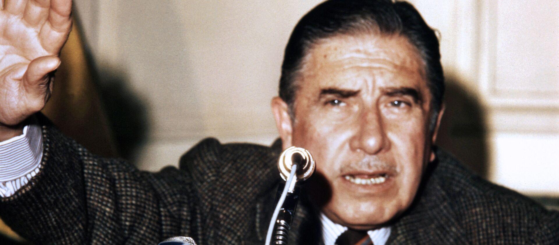 Augusto Pinochet, dictador chileno (archivo) - Sputnik Mundo, 1920, 31.08.2019
