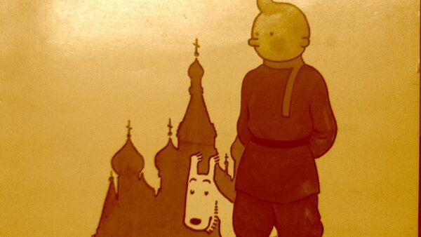 Tintín en el país de los soviets - Sputnik Mundo
