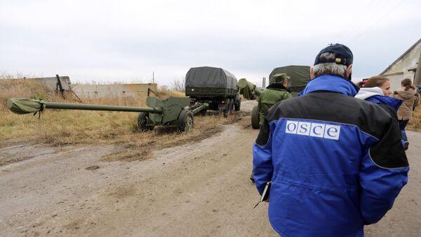 OSCE en Donbás - Sputnik Mundo