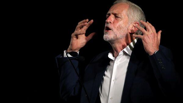 Jeremy Corbyn, el líder del partido laborista en Gran Bretaña - Sputnik Mundo