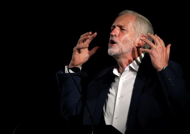 Jeremy Corbyn, el líder del partido laborista