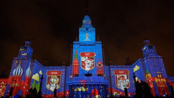 Presentación de los candidatos a convertirse en la mascota oficial de la Copa Mundial de la FIFA Rusia 2018 en Moscú, 23 de septiembre de 2016 - Sputnik Mundo