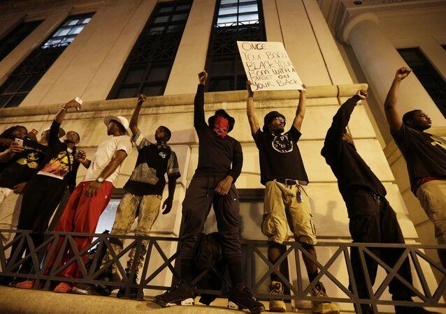 Las protestas en la ciudad estadounidense de Charlotte