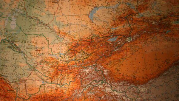 El mapa de Asia Central - Sputnik Mundo