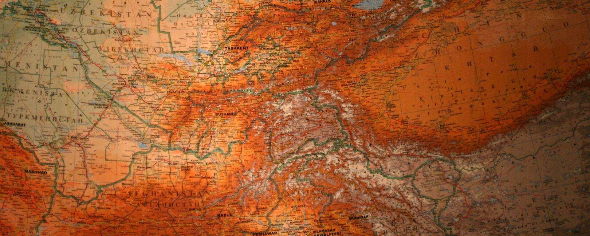 El mapa de Asia Central - Sputnik Mundo, 1920, 23.08.2021