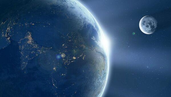 Earth and moon - Sputnik Mundo