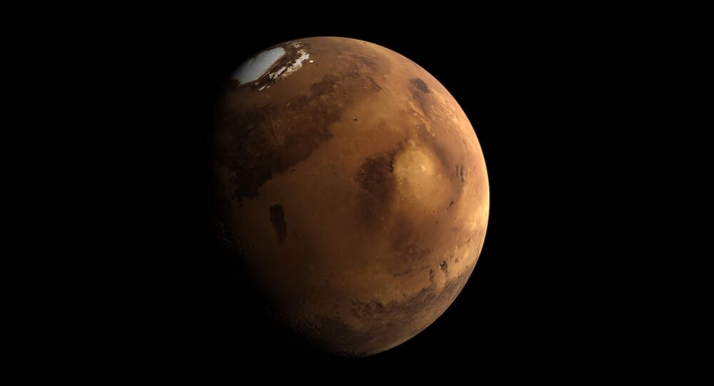 El planeta Marte (archivo)