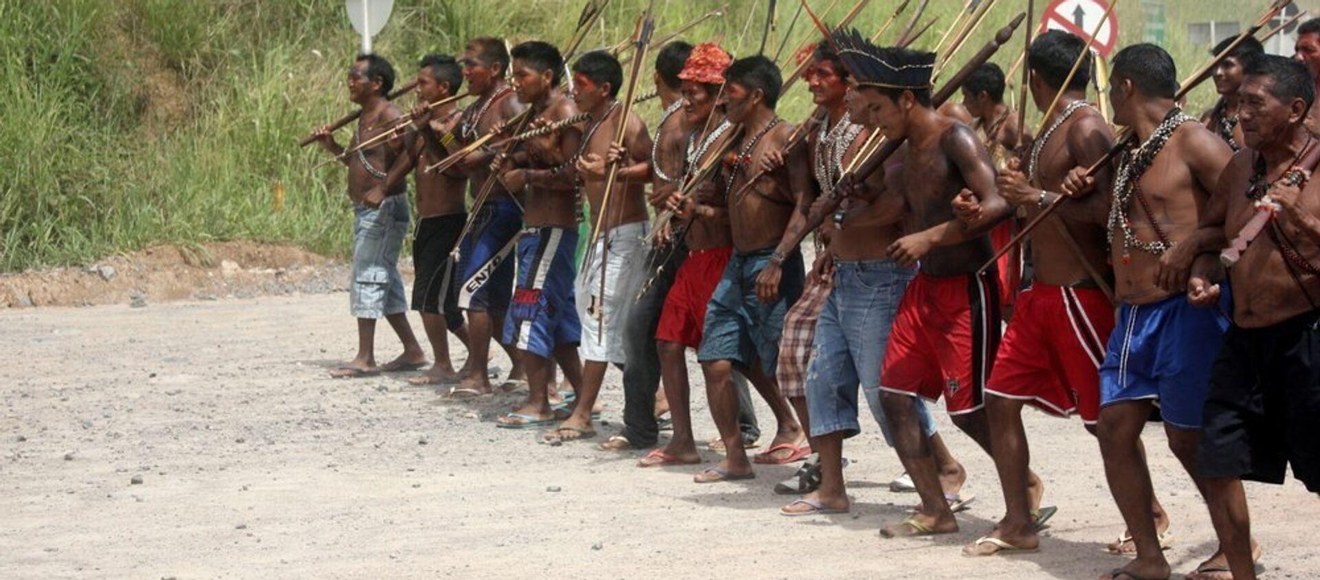 Los indígenas de Brasil - Sputnik Mundo, 1920, 29.01.2021