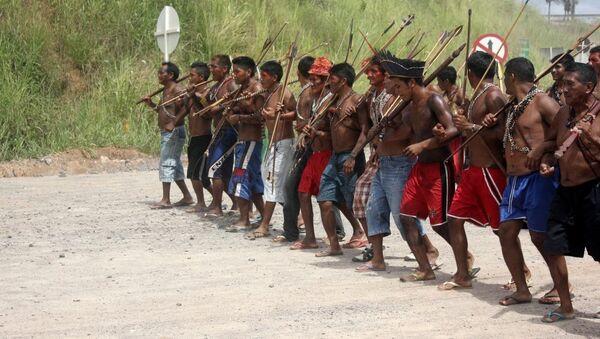 Los indígenas de Brasil - Sputnik Mundo