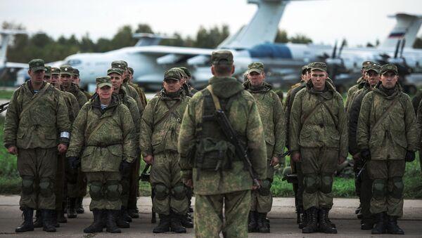 Militares rusos - Sputnik Mundo