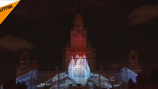 El festival 'Círculo de Luz' en Moscú - Sputnik Mundo