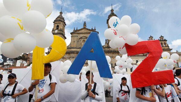 Acuerdo de paz en Colombia - Sputnik Mundo