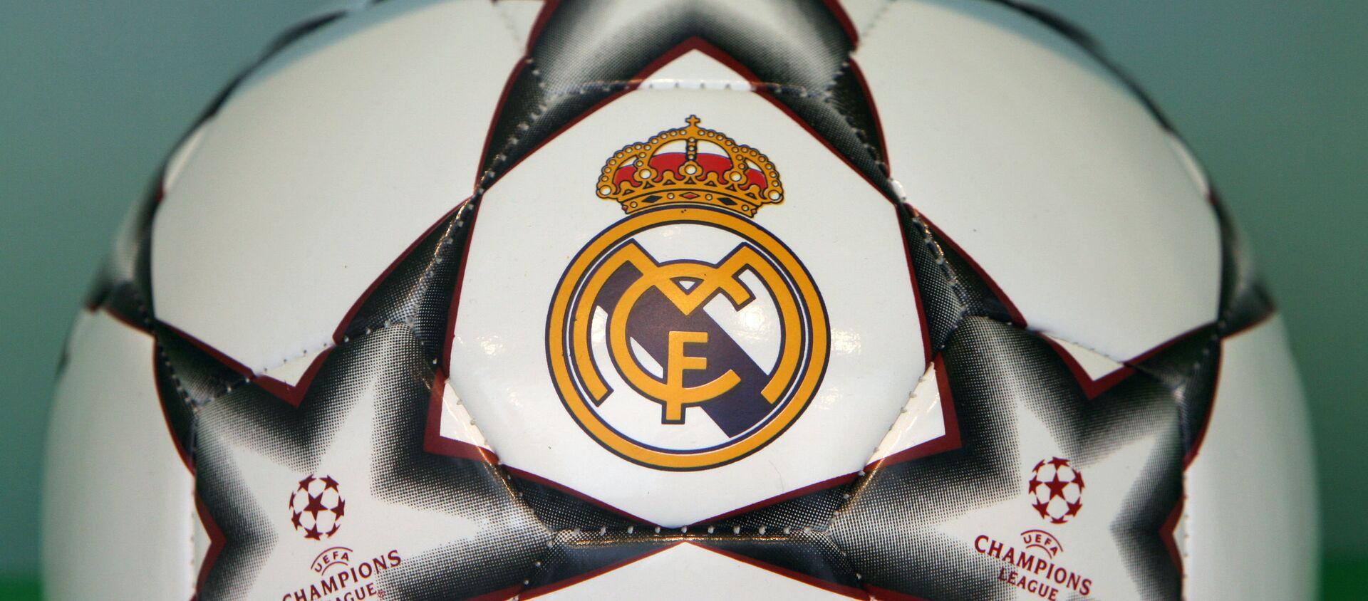 A Real Madrid Champions League football seen in a shop window in Madrid, 07 December 2006.  - Sputnik Mundo, 1920, 06.03.2020