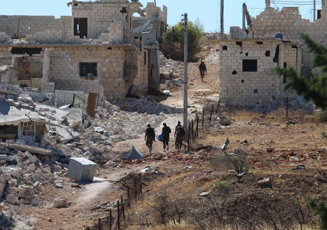 Campo de refugiados en Siria (archivo)