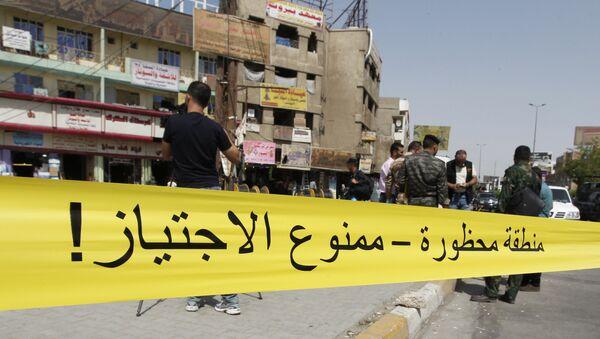 Las explosiones en Bagdad - Sputnik Mundo