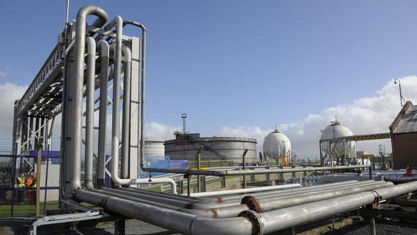 La planta de gas - Sputnik Mundo