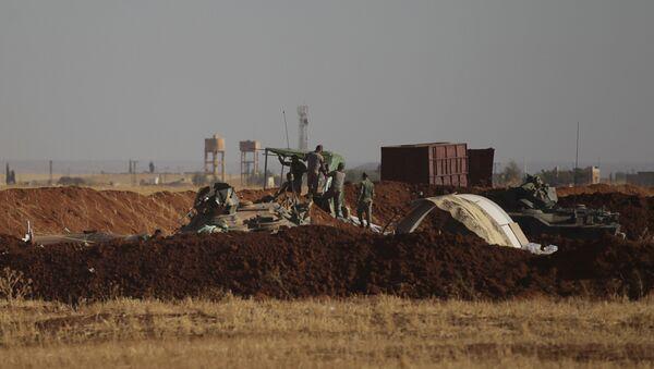 Los soldados turcos en Siria - Sputnik Mundo
