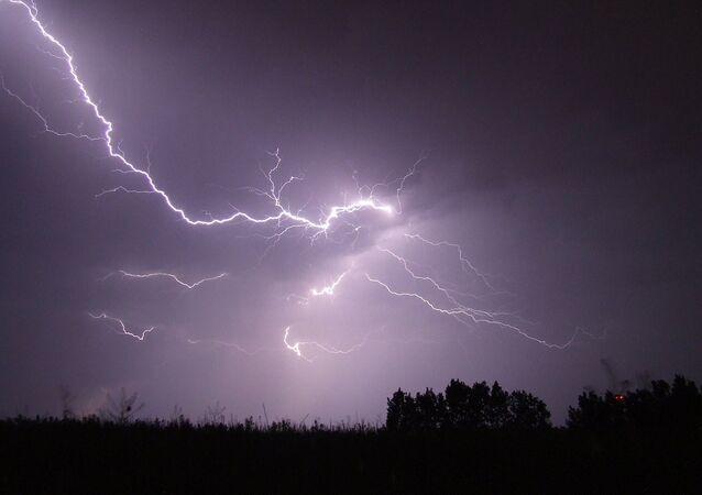 Una tormenta