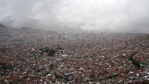 La ciudad boliviana de El Alto (archivo) - Sputnik Mundo