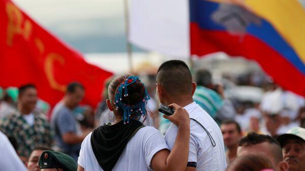 Los combatientes de las FARC - Sputnik Mundo
