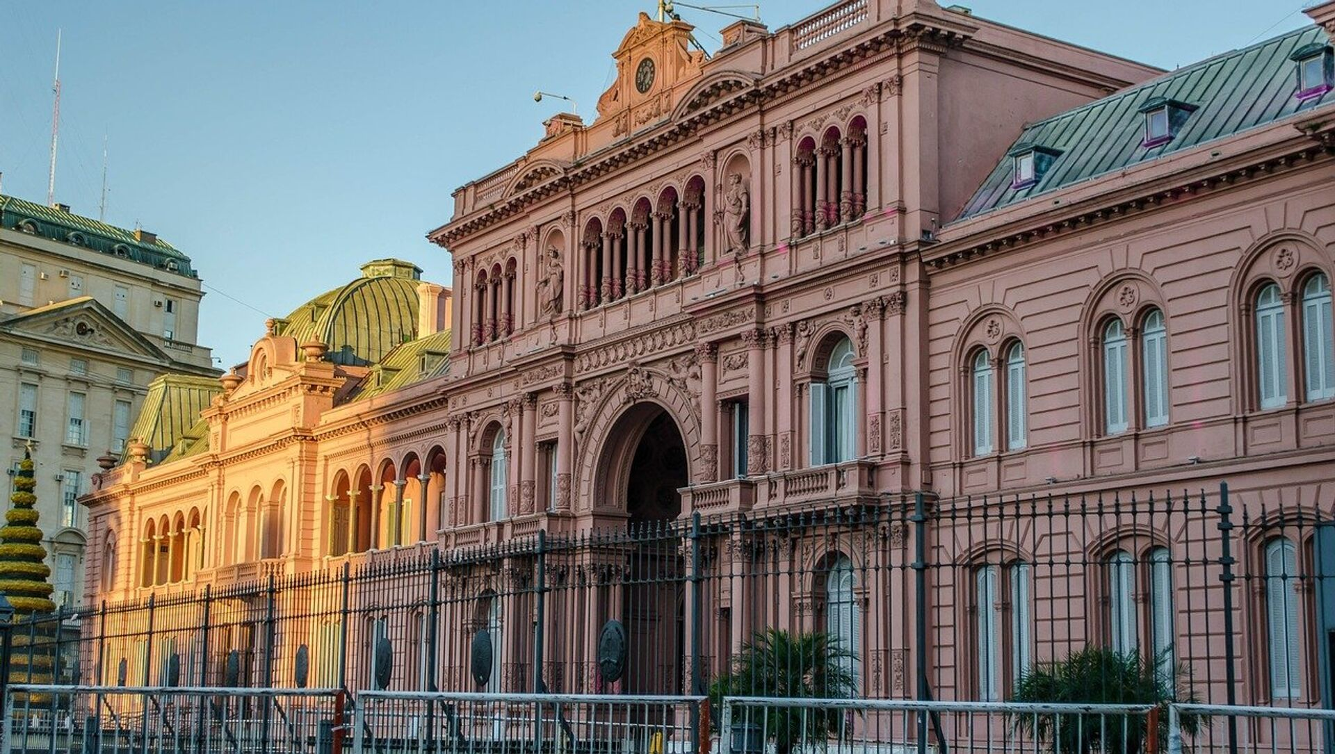 La Casa Rosada, la sede del Gobierno argentino - Sputnik Mundo, 1920, 04.02.2019