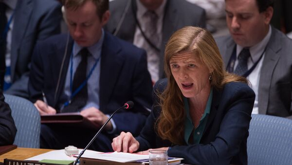 Samantha Power, embajadora de EEUU ante la ONU - Sputnik Mundo