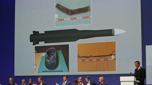 La presentación de los resultados de la investigación del siniestro del avión MH17 - Sputnik Mundo