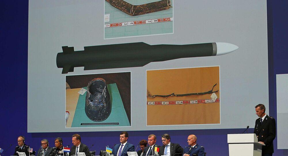 La presentación de los resultados de la investigación del siniestro del avión MH17