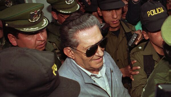 Luis García Meza, último dictador de Bolivia - Sputnik Mundo