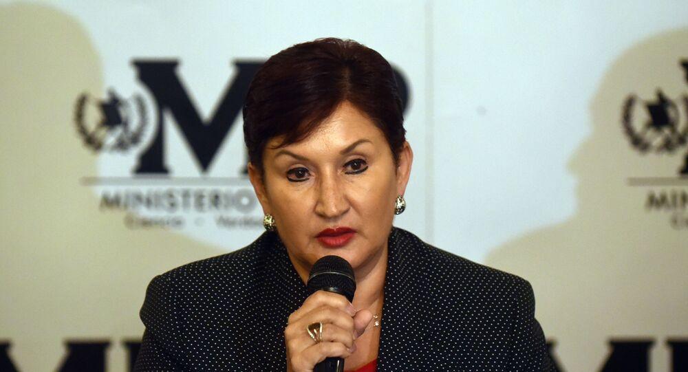 Thelma Aldana, ex fiscal general de Guatemala