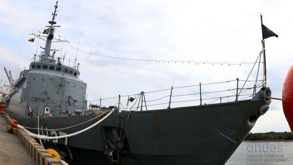 El buque escuela de la Fuerza Naval brasileña Brasil - Sputnik Mundo