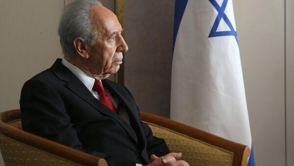 Shimón Peres - Sputnik Mundo