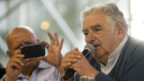 El expresidente uruguayo José Mujica - Sputnik Mundo