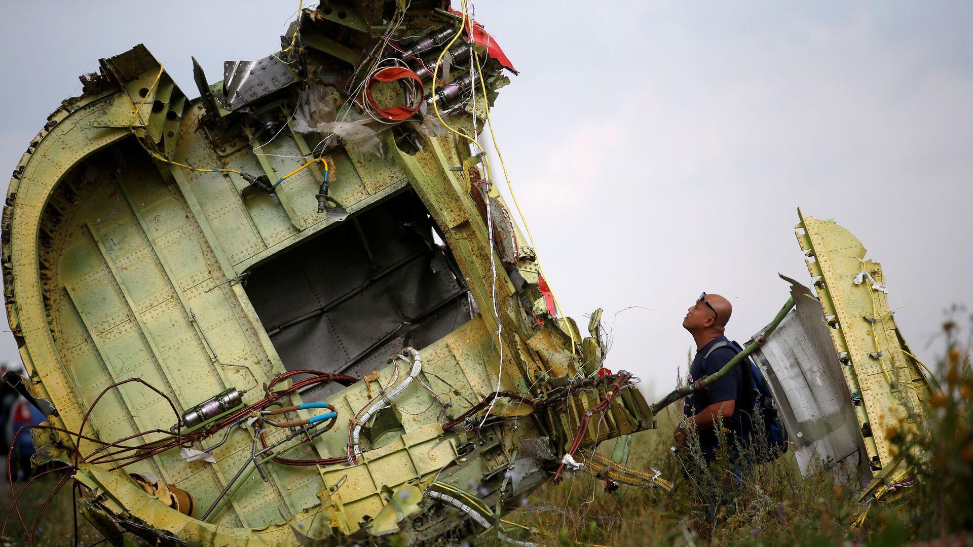 Lugar del siniestro del avión MH17 - Sputnik Mundo, 1920, 09.06.2021