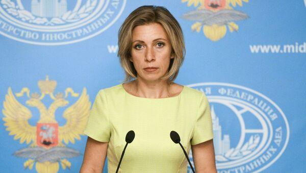 Брифинг официального представителя МИД России М. Захаровой - Sputnik Mundo