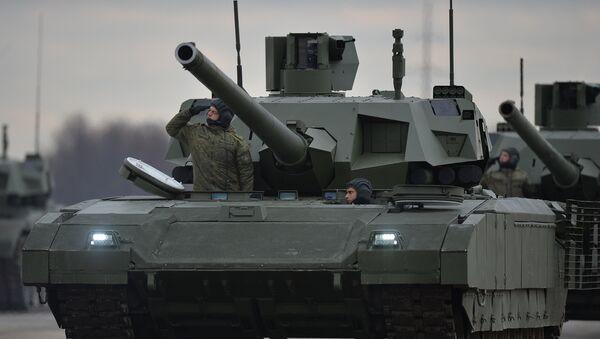 El tanque ruso T-14 Armata (archivo) - Sputnik Mundo