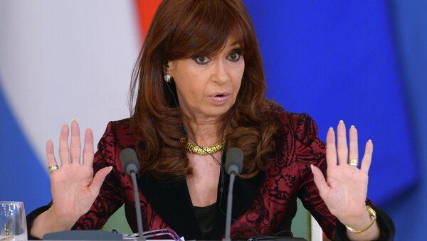 Expresidenta de Argentina, Cristina Fernandez de Kirchner - Sputnik Mundo