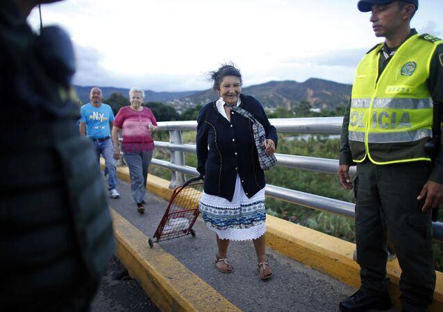 La apertura de frontera venezolano-colombiana, julio de 2016
