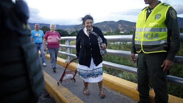 La apertura de frontera venezolano-colombiana, julio de 2016 - Sputnik Mundo