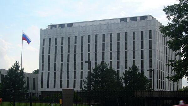 Embajada rusa en Washington, EEUU - Sputnik Mundo