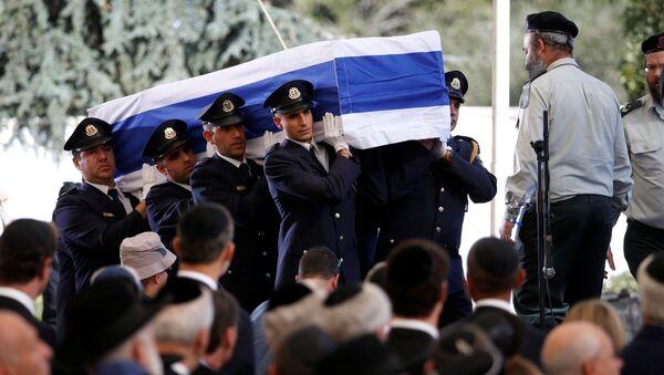 El funeral del expresidente israelí, Shimon Peres, el 30 de septiembre de 2016 - Sputnik Mundo