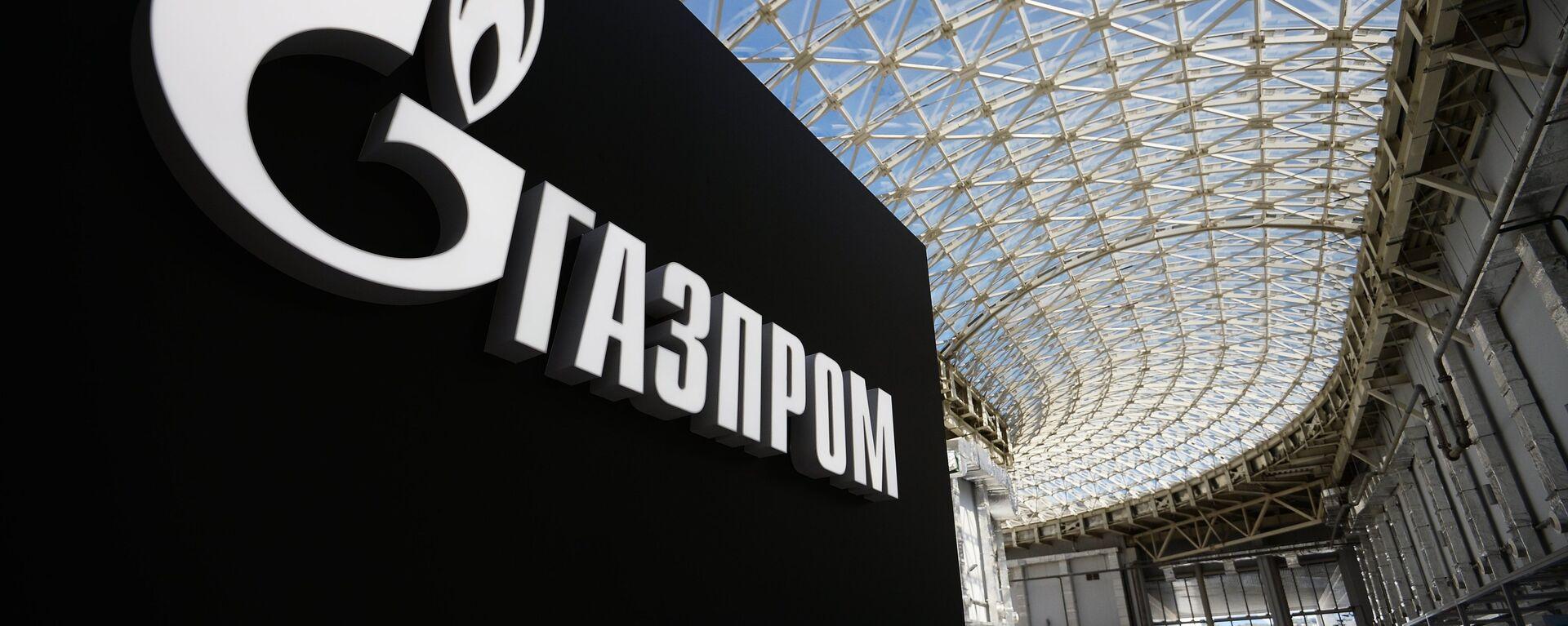 Logo de la compañía rusa Gazprom - Sputnik Mundo, 1920, 10.06.2021
