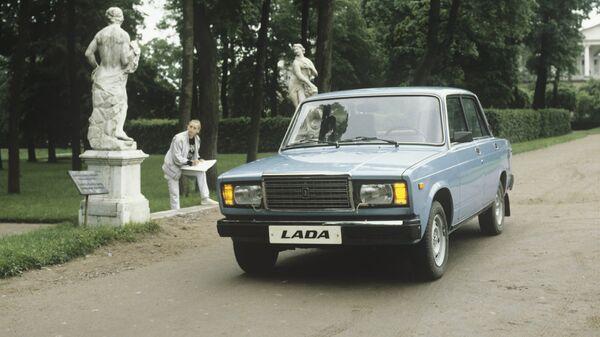 Легковой автомобиль ВАЗ-2107 - Sputnik Mundo