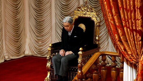 Akihito, el Emperador de Japón (archivo) - Sputnik Mundo
