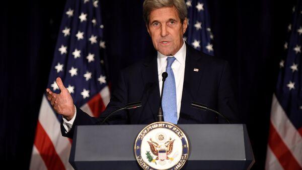 John Kerry, el secretario de Estado de EEUU - Sputnik Mundo