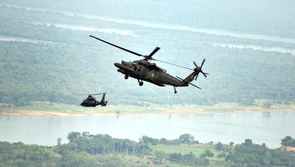 Helicópteros de Brasil - Sputnik Mundo