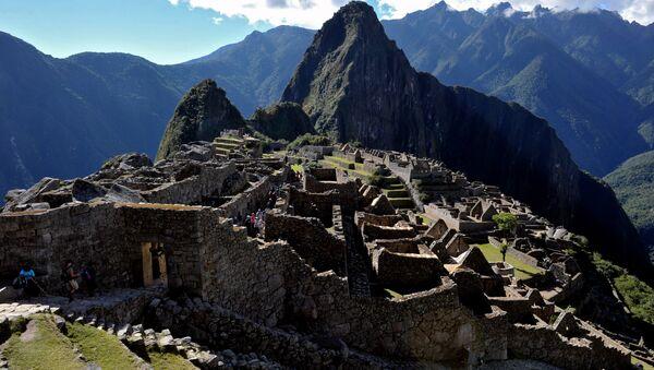 Ruinas de Machu Picchu (imagen de archivo) - Sputnik Mundo